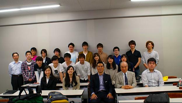 早稲田大学にて特別講義をしました