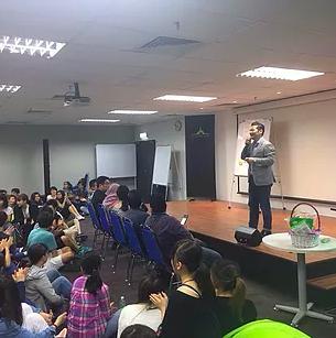 神奈川県立横浜国際高等学校 マレーシア研修で山口が登壇